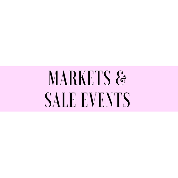Markets & Sale Events