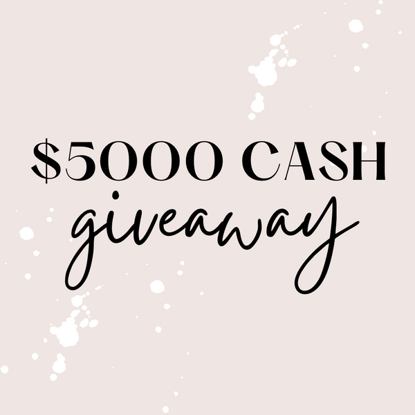 17th May / $5000 {Major} Cash Giveaway