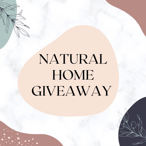 5th Jul / Natural Home Giveaway