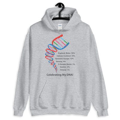 Personalized DNA Test Results Helix Hoodie / Unisex
