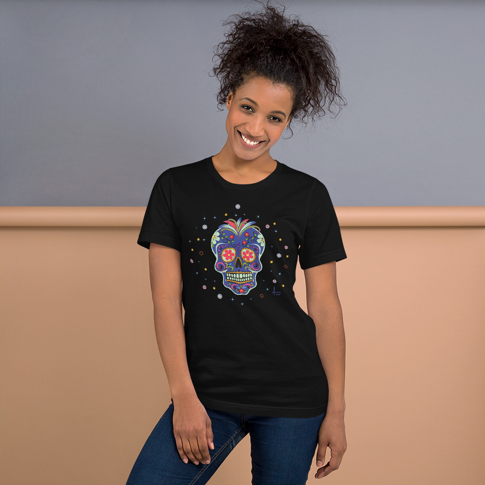 Day of the Dead Sugar Skull Tee / UniSex