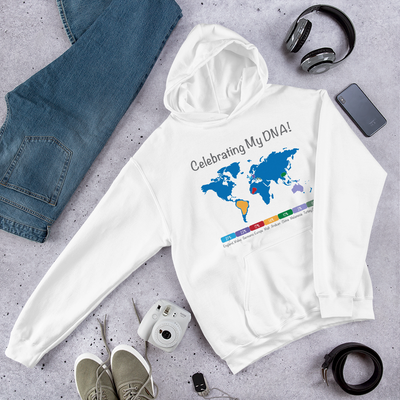 Personalized DNA Results Hoodie / Unisex