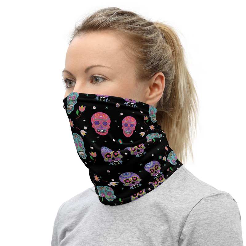 Day of the Dead Neck Gaiter by CelebrateDNA™