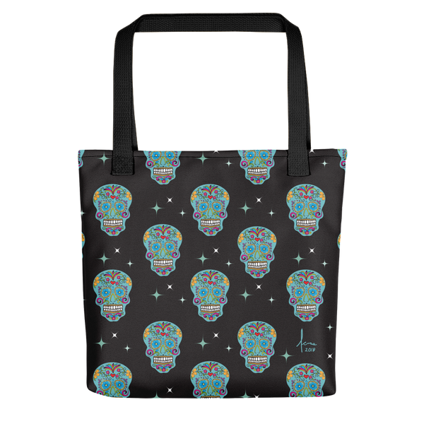 Skulls, Skulls, Skulls Tote Bag / Day of the Dead