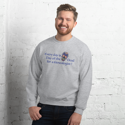 Day of the Dead Genealogist Unisex Sweatshirt