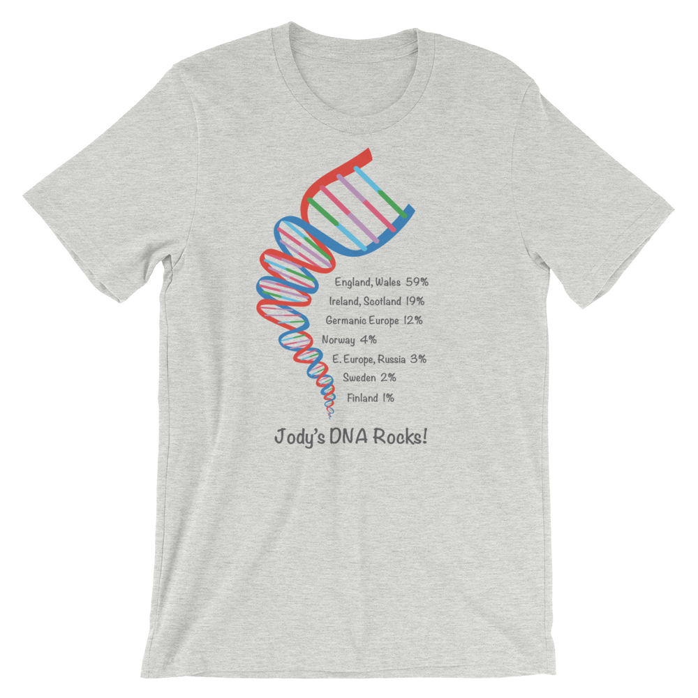 Personalized DNA Test Results Twister Helix / Unisex