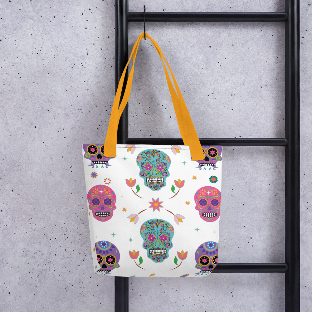 Every Day is Day of the Dead for a Genealogist Tote Bag