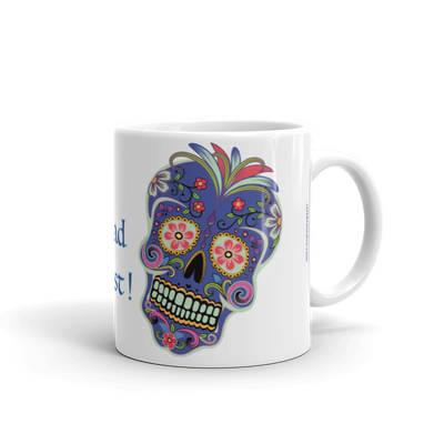 Day of the Dead Genealogy Mug