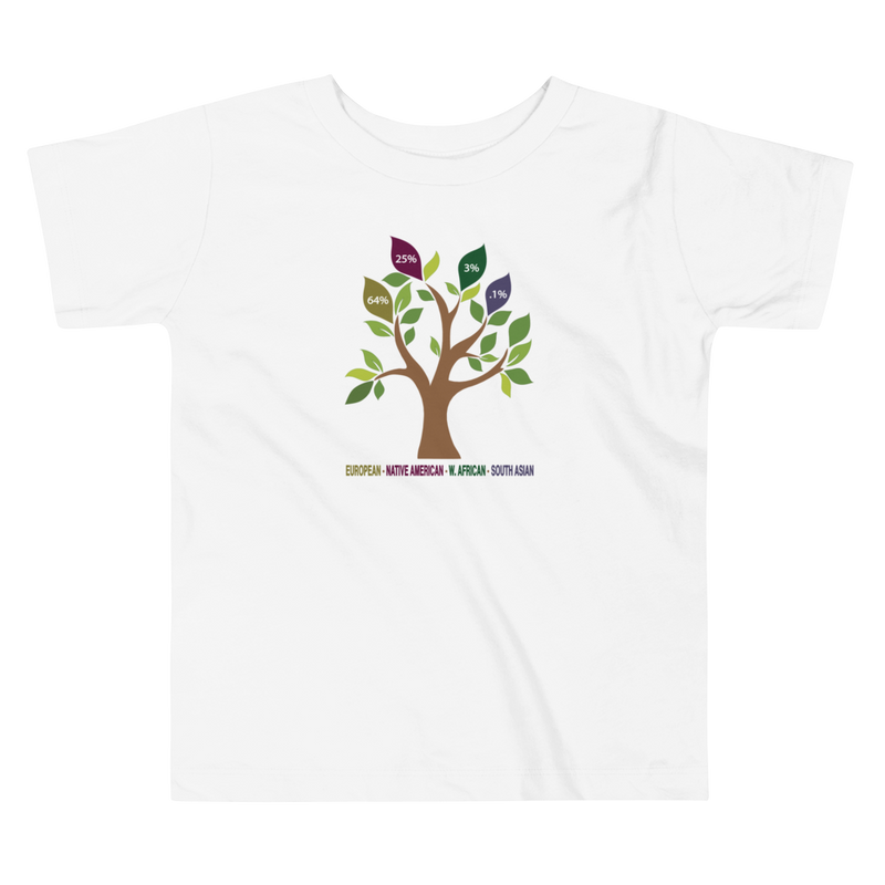Toddler DNA Tree T-shirt / Ancestry Gift