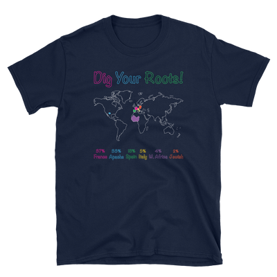 Personalized DNA POP Tee / Unisex