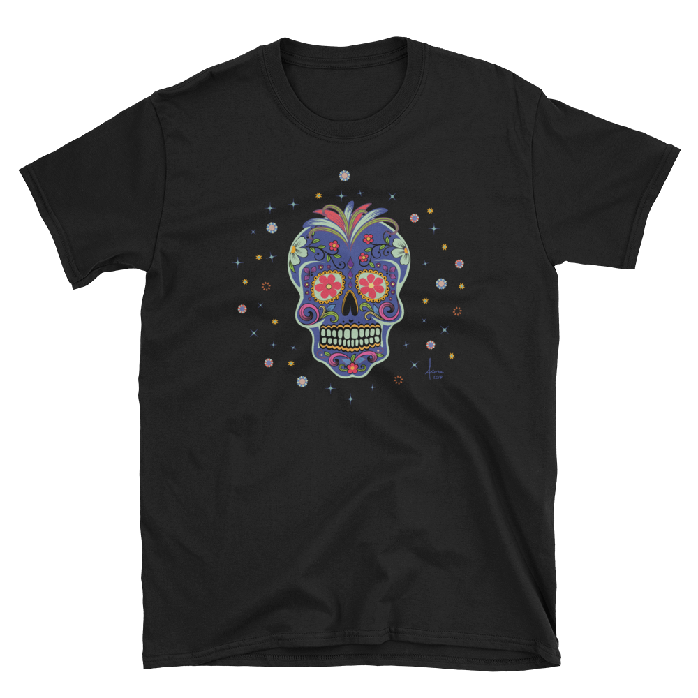 Genealogy Day of the Dead UniSex T-Shirt / Front & Back