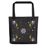 Day of the Dead Tote bag / Black
