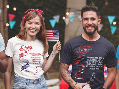 Celebrate American DNA T-shirt Navy / Limited Edition