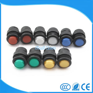 5Pcs Latching 16MM LED Button Switch