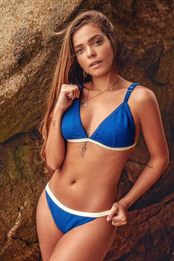 Bikini-Set mit Triangle Top Cupshe