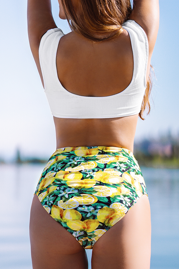 Sweet Lemon High-Waisted Bikini