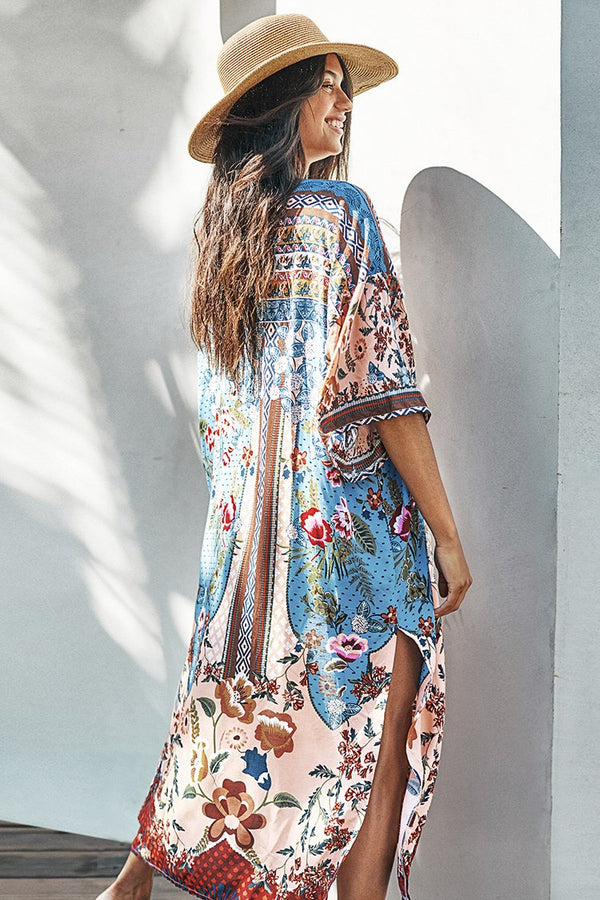 Floral Traum Print Cover Up