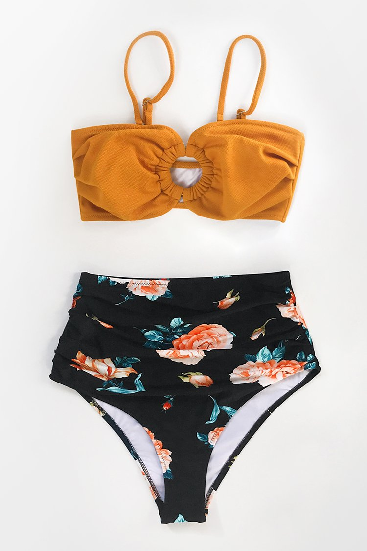 Blossom High-Waisted Bikini Hose