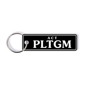 ACT Colour Licence Plate Custom Keychain