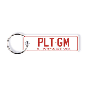 NT General Issue Licence Plate Custom Keychain