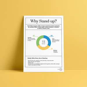 'Why stand-up?' Poster