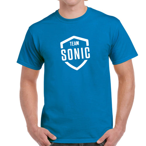 Unisex Adult Team Sonic Official Merchandise T-Shirt