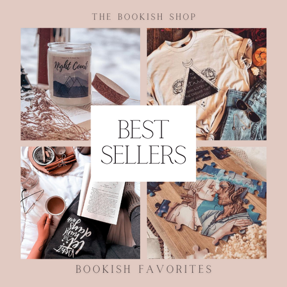 Best Sellers at Bookish Shop
