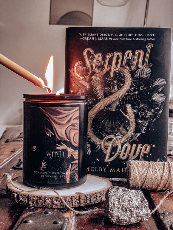 Serpent and Dove Inspired: Witch Candle