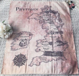 Prythian Map Tapestry