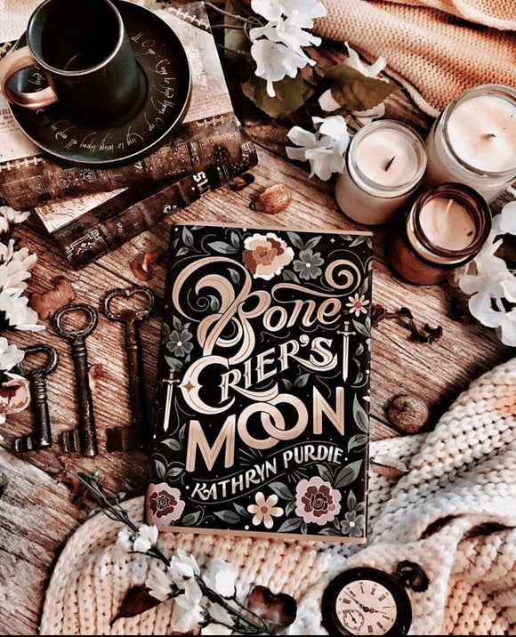 Bone Crier's Moon Exclusive Dust Jacket