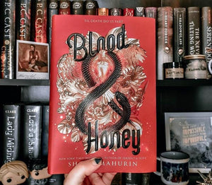 Blood & Honey Hardcover with Exclusive Reversible Dust Jacket (Signed)