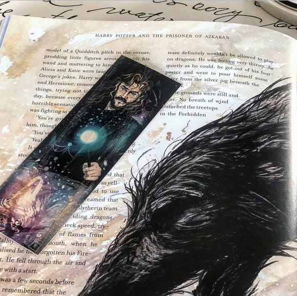 Sirius Black Wood Bookmark