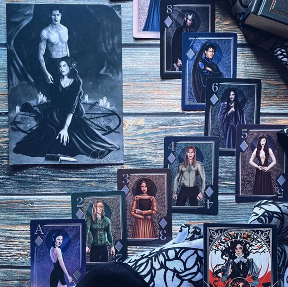 ACOTAR Inspired Playing Cards