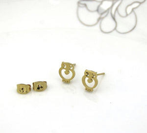 Hedwig Owl Earrings