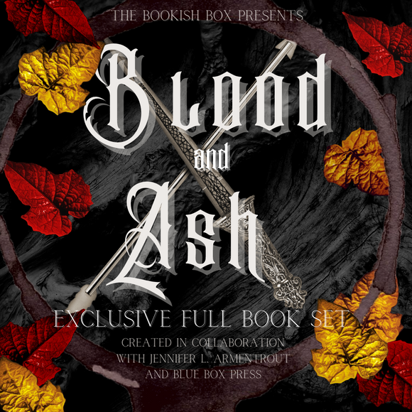 From Blood & Ash Book Set Only Pre-Order