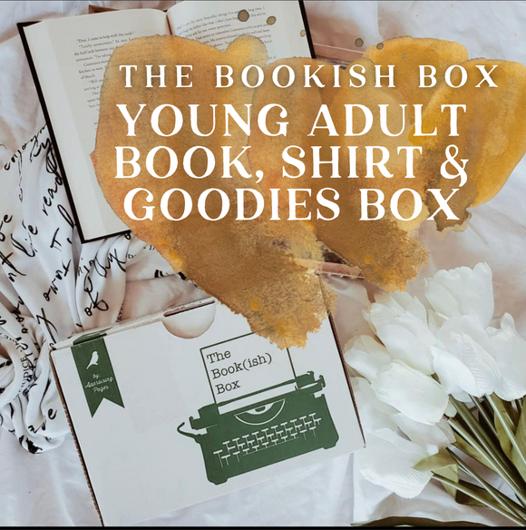 The Bookish Box Young Adult Book, Shirt & Goodies Monthly Subscription