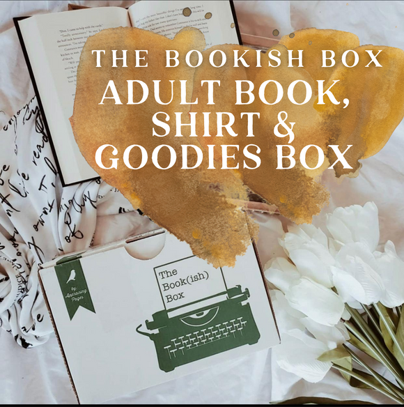 The Bookish Box Adult Book, Shirt & Goodies Monthly Subscription