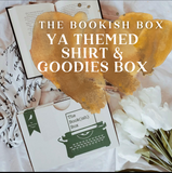 The Bookish Box Young Adult Theme Shirt & Goodies Monthly Subscription