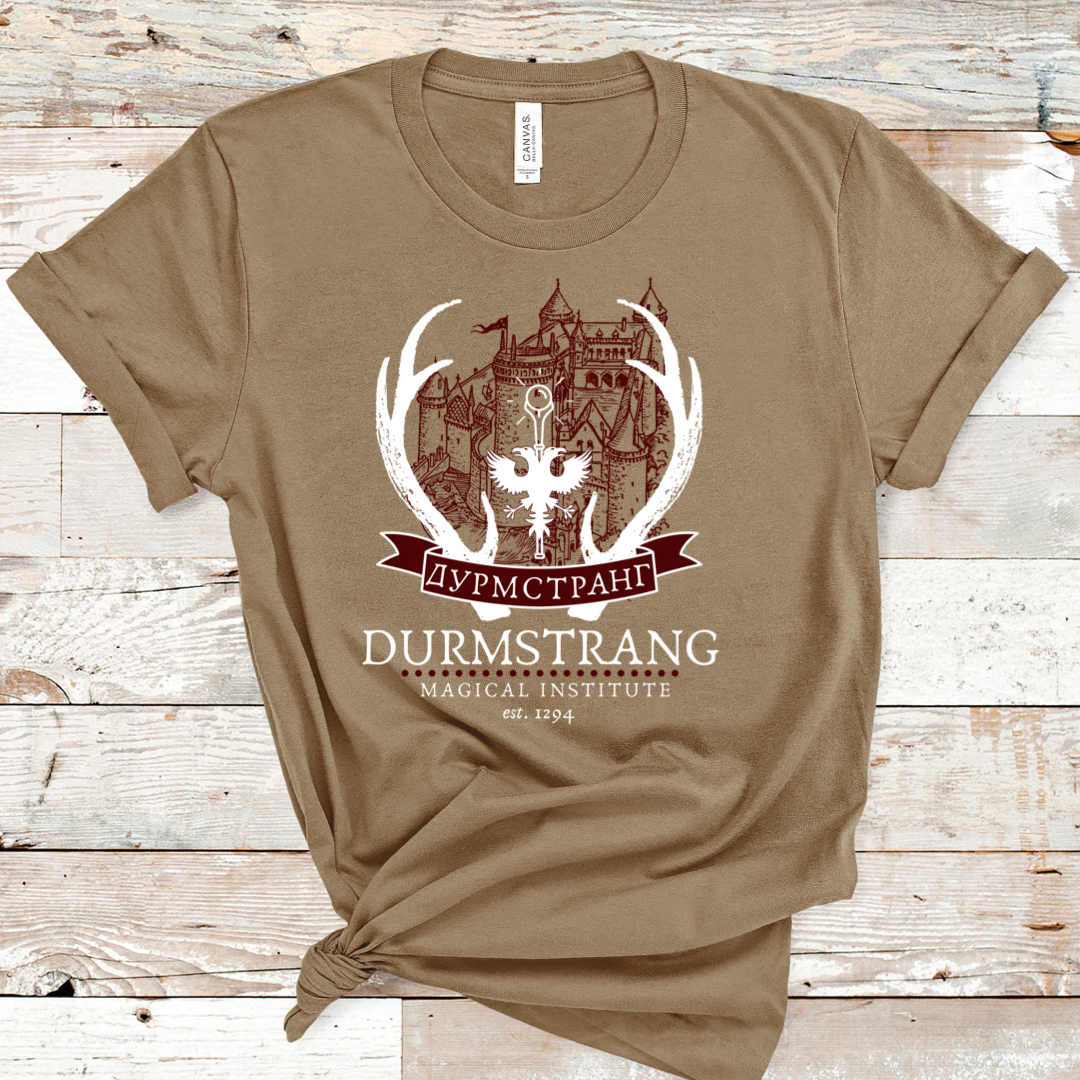 Durmstrang Inspired Tee The durmstrang institute has a dark history and many stud. durmstrang inspired tee