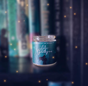 Throne of Glass Inspired: Aelin Galathynius Candle