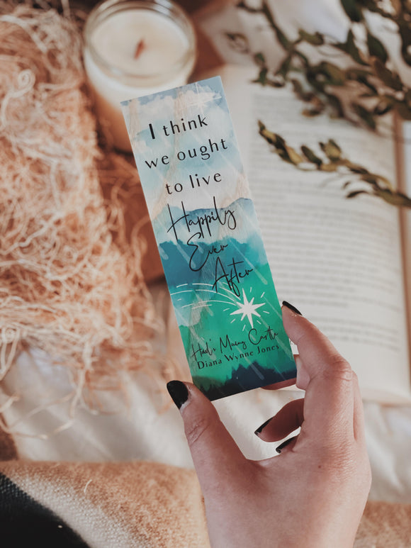 Howl's Moving Castle Wood Bookmark
