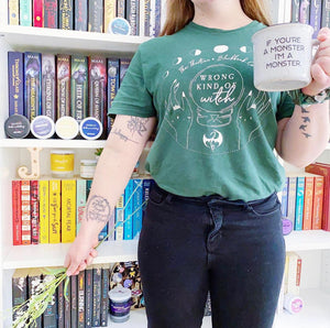 Throne of Glass Inspired: Wrong Kind of Witch Tee