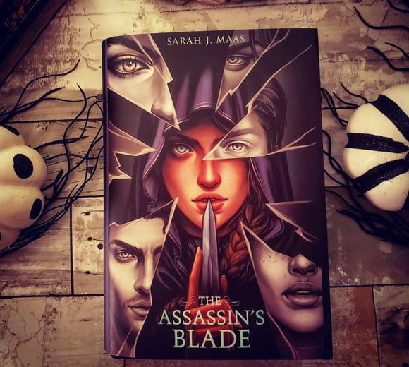 The Assassin's Blade Exclusive Dust Jacket