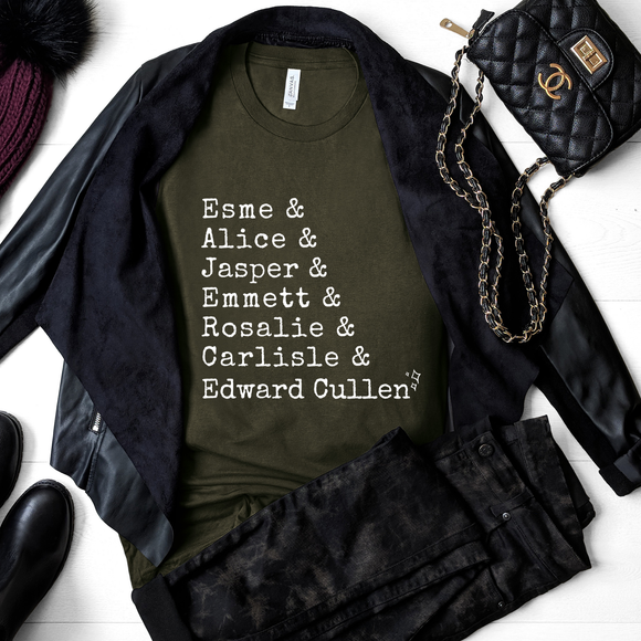The Cullen's Family Ampersand Tee