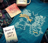 Throne of Glass Inspired: Erilea Map Tee