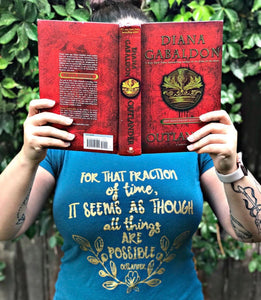 Diana Gabaldon inspired: All Things Were Possible Tee