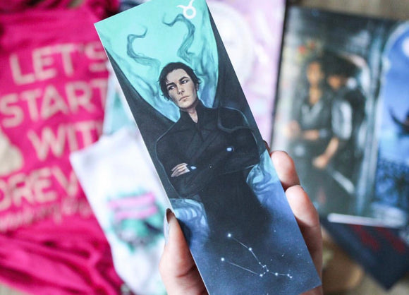 Perks: Collectable Taurus Zodiac Bookmark