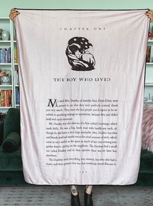The Boy Who Lived Blanket