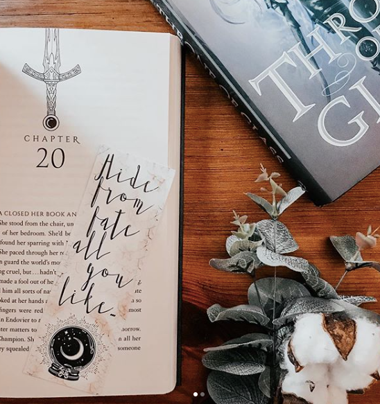 Throne of Glass Inspired: Fate Will Find You Bookmark