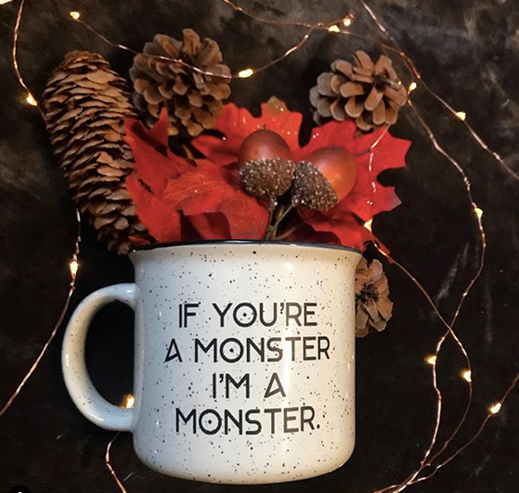Throne of Glass Inspired: I'm a Monster Campfire Mug